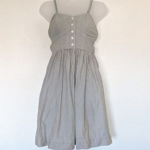 American Eagle Striped Sundress with Pockets